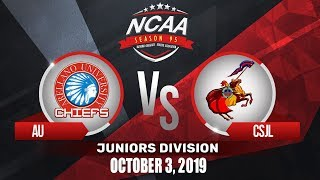 AU vs. CSJL | NCAA 95 Jrs Basketball | October 3, 2019
