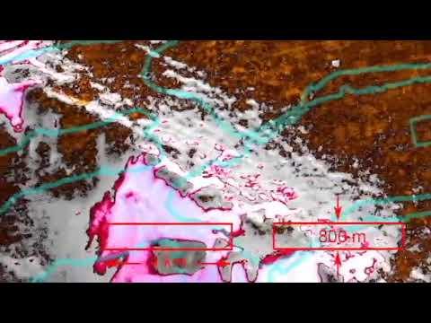 MIRROR Mars Archaeology 3 SECRET in POLAR REGION