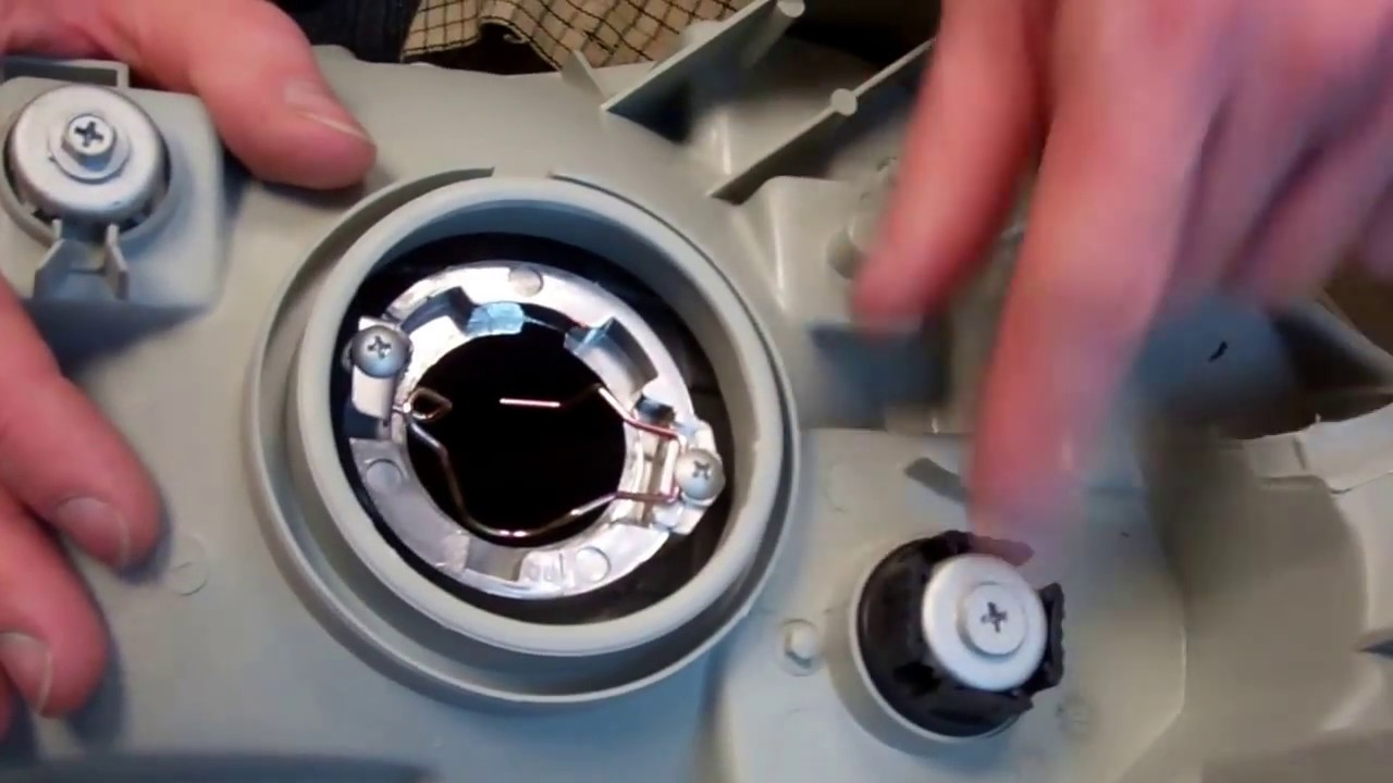 2008 Honda Accord Headlights How to fit adjustment motor to rear of Depo headlight on Toyota Hilix ...