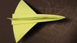 How To Make A Cool Paper Plane Origami: Instruction| Delta Dagger Jet Fighter