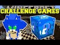 Gambar cover Minecraft: SONIC CHALLENGE GAMES - Lucky Block Mod - Modded Mini-Game