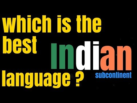 Which Indian language sounds the best in your POV?