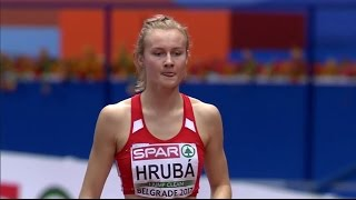 Michaela Hrubá | 2017 European Athletics Indoor Championships Belgrade | High Jump Women