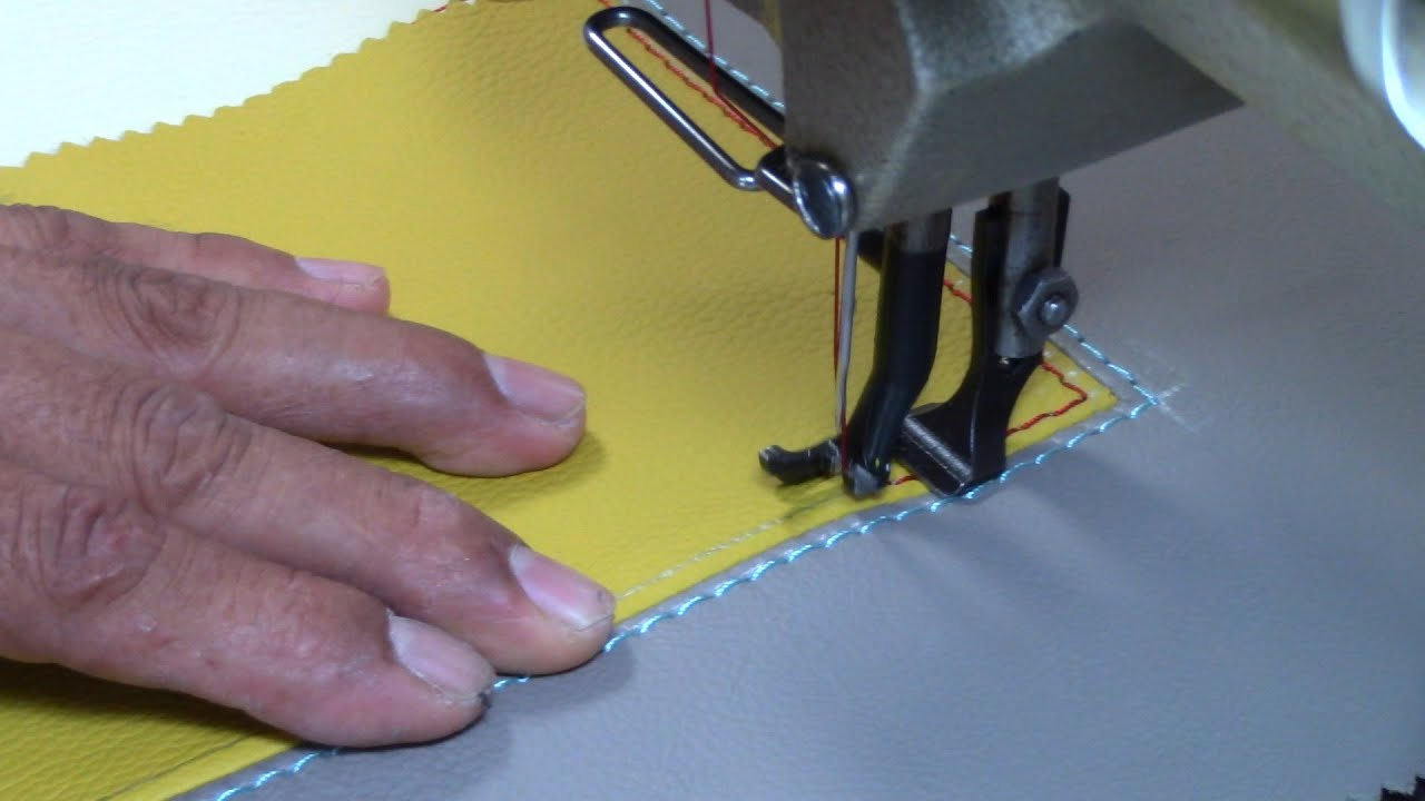 French Seams On Square Corners Upholstery Basics Youtube