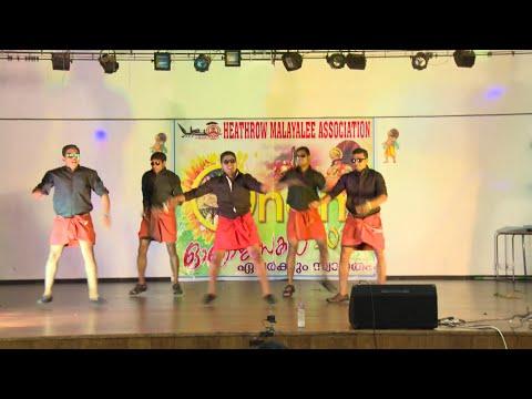 HMA ONAM 2015 - Premam Dance by Jermey, Ginto, Ben, Tijo & Lloyd