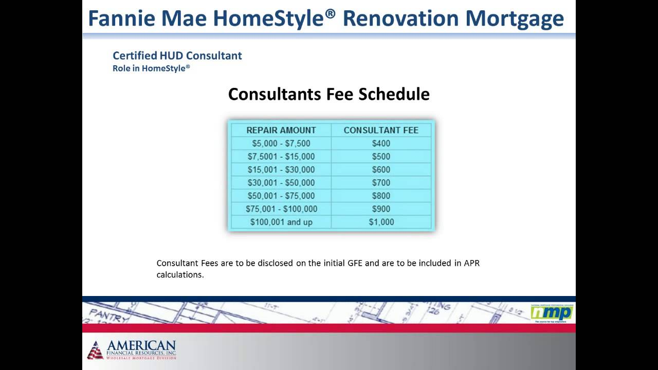 Nmp Webinar Fannie Mae Homestyle Renovation Mortgage Youtube