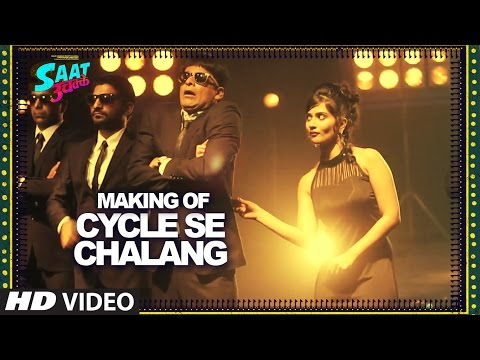 Making Of CYCLE SE CHALAANG Video Song || Saat Uchakkey || Kailash Kher | T-Series