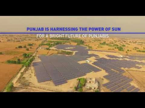 Punjab leads the Green Energy revolutions with this ‪World Largest Solar Rooftop 4k