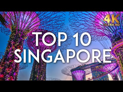TOP 10 things to do in SINGAPORE | Travel Guide 4K