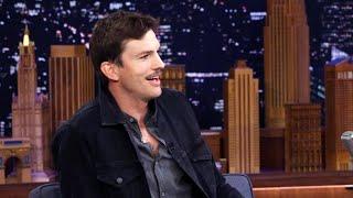 How Adele Inspired Ashton Kutcher's MUSTACHE!