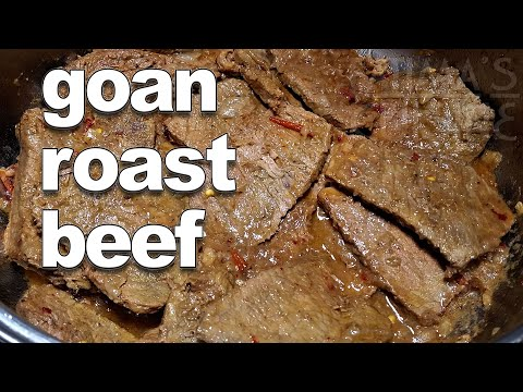 Goan Roast Beef | Goan Beef Roast Recipe - YouTube ||*Fatima Fernandes | Goan Pot Roast Beef Recipe