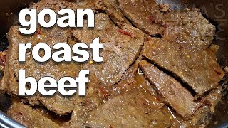 Goan Roast Beef | Goan Beef Roast Recipe - YouTube ||*Fatima Fernandes | Goan Pot Roast Beef Recipe