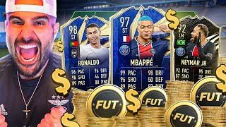 8 MILLION COINS SPENT! TOTY MBAPPE & IF NEYMAR ARE HERE! FIFA 21