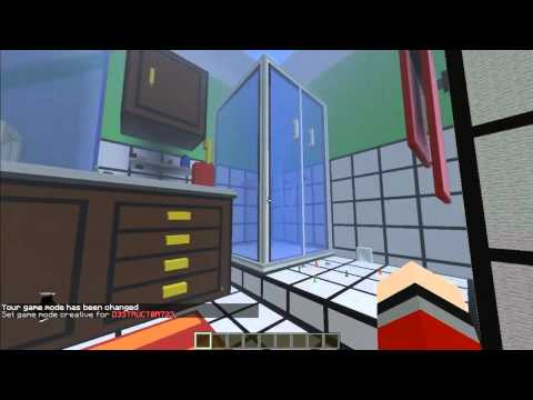 Minecraft map aventure the dropper part 01 doovi for Porte 3x3 minecraft