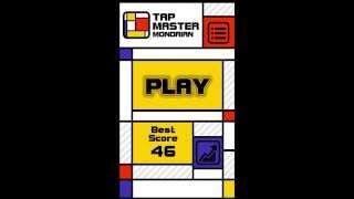 Tap Master: Mondrian Gameplay