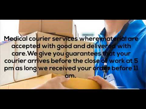 Medical Courier Services Columbia