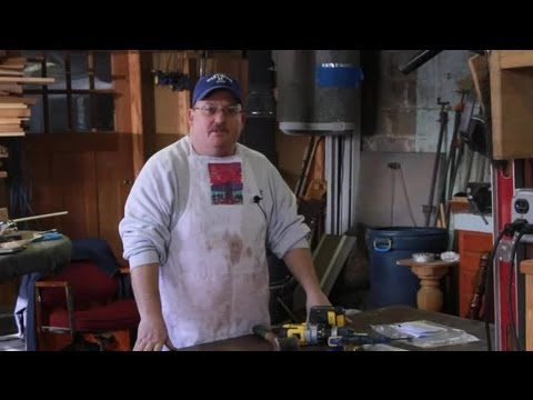 How to Remove a Drill Bit From Wood : Wood & Furniture Repair Tips