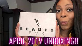 ALLURE BEAUTY BOX UNBOXING: APRIL 2019🥰