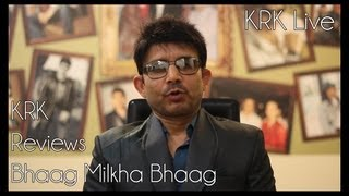 Bhaag Milkha Bhaag Review by KRK | KRK Live | Bollywood