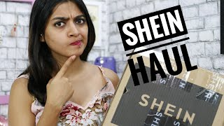 My Most Brutually Honest Shein Haul EVER! _ #Shein Review India