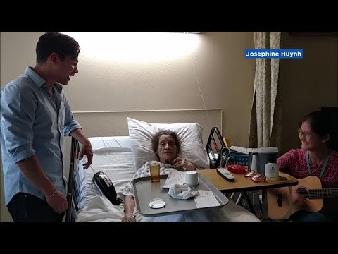 San Jose music therapist brings Broadway star to resident's bedside