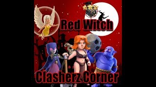 Town Hall 9 Three Star Tutorial - Red Witch - Current Meta Clash Of Clans
