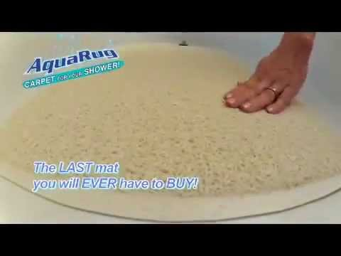The Official Aqua Rug Bath Mat Commercial
