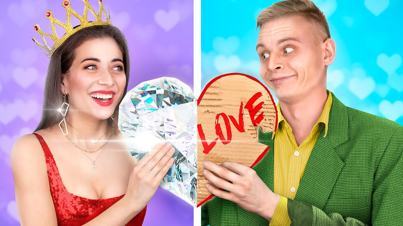 Rich vs Broke St. Valentine's Day - download from YouTube for free