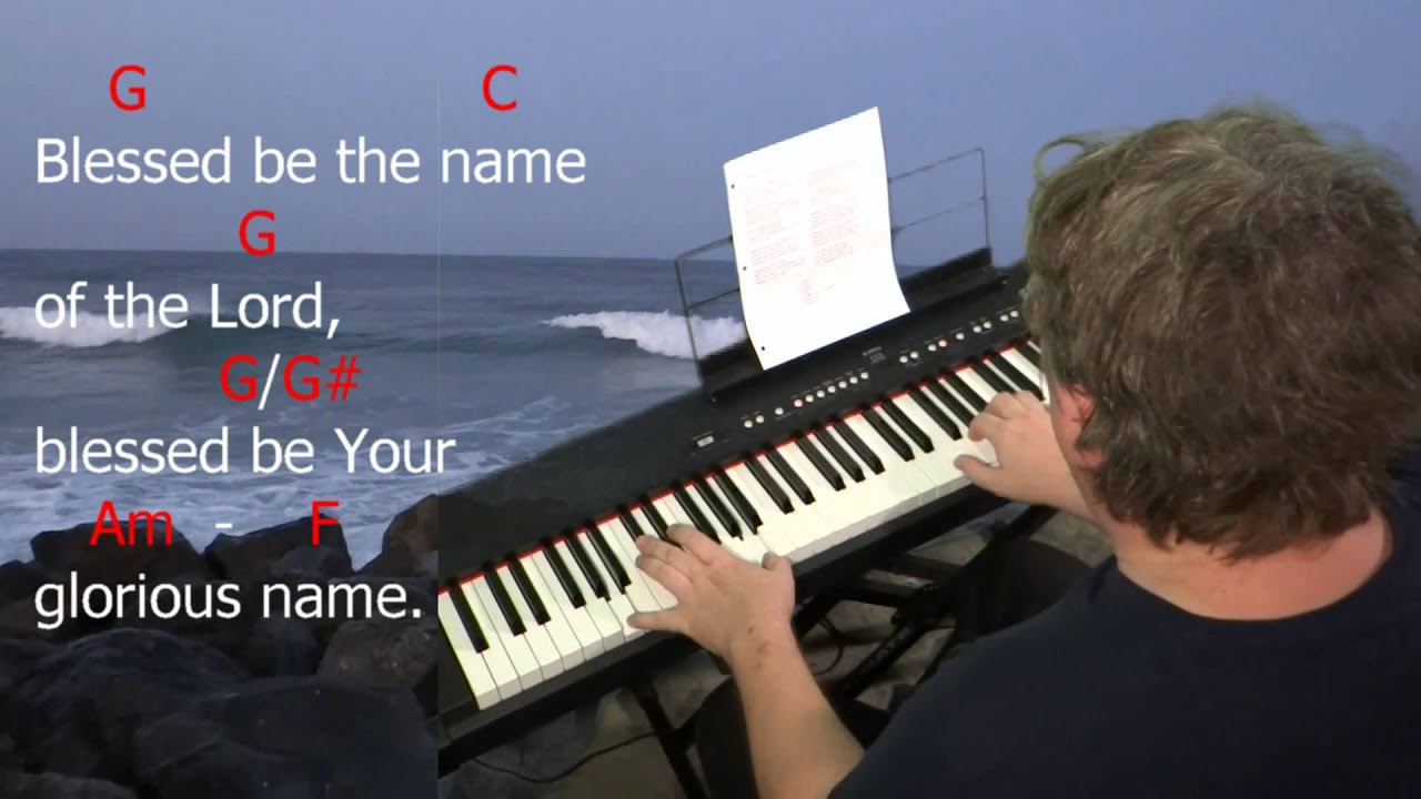 Learn to play blessed be your name by matt redman key c learn to play blessed be your name by matt redman key c major hexwebz Images