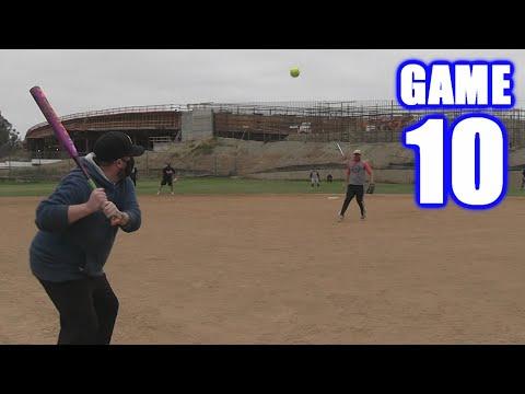 MY FIRST INSIDE-THE-PARK HOME RUN!   On-Season Softball Series   Game 10  