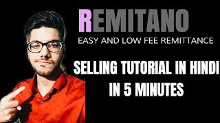 REMITANO - Buy/Sell Crypto In 5 Minutes!! || HINDI || P2P for Indian Crypto Users