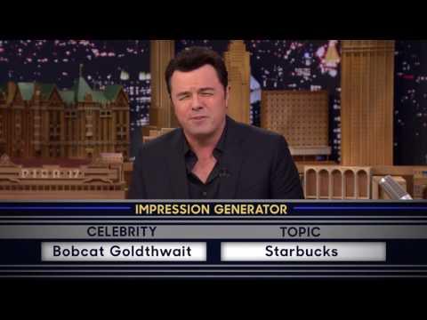 Seth MacFarlane impersonates Bobcat