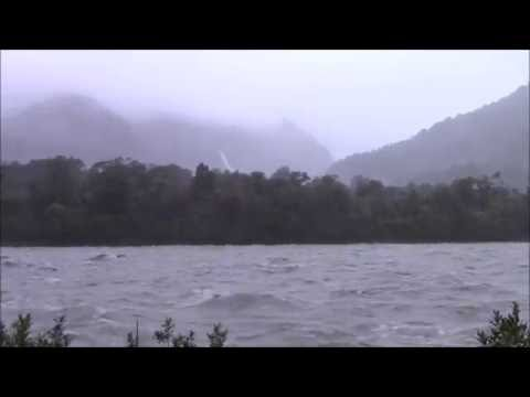 Hokitika River flood