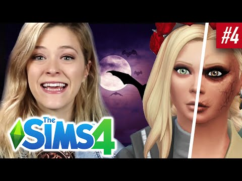 Single Girl Adopts Vampire Cats In The Sims 4 | Part 4