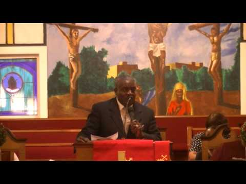 Church Pastor Alphonso McClendon of  First Metropolitan Baptist & Nazareth Baptist Church Choir