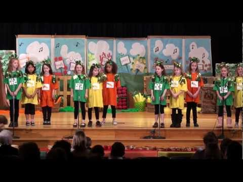 "Indian Hill Primary. 2nd Grade Musical. 2-8-12.  ""How Does Your Garden Groove?"""