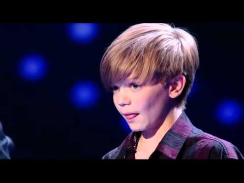 Ronan Parke - Britains Got Talent, Because Of You. FINAL! 2011