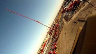 Liebherr Ltm11200 basket ride 515 foots