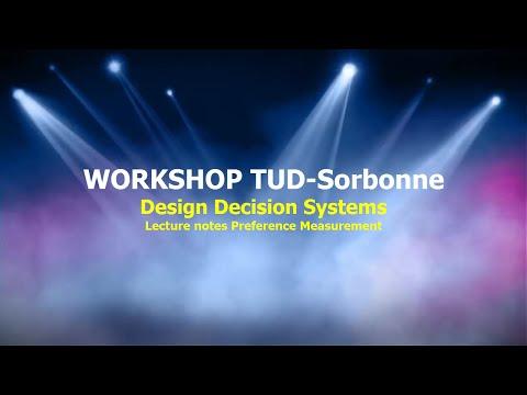 Workshop Decision Systems Modeling TUD Sorbonne PFM