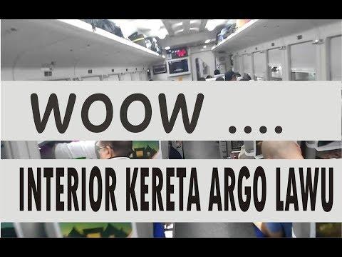 Interior K.A Argo Lawu Eksekutif Gambir - Solo Balapan