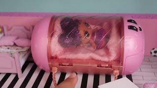 Annemden Gizli Dev LOL Evi Eşyalarını Açtım ve Eşya Yaptım! DIY Minyatür Eşya Bidünya Oyuncak