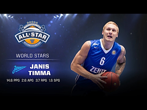 Janis Timma All Star Game Profile
