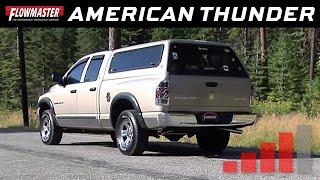 2002 2005 ram 1500 flowmaster american thunder cat back exhaust system pn 817476 17476