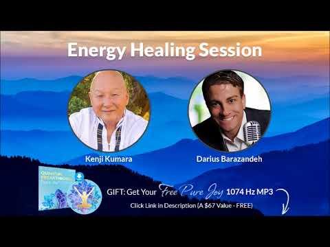 TRY THIS! Kenji Kumara Mega Quantum Energy Journey Mind, Holographic, Spiritual Healing W/Darius