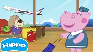 Hippo 🌼 Airport Professions 🌼 Kids Games 🌼 Videos Trailers