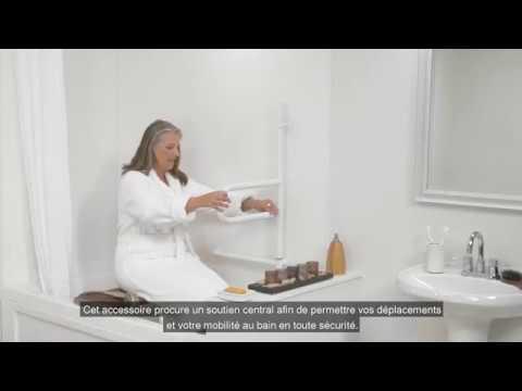Barre Dappui Rotative Pour Baignoire Dependa Bar Youtube