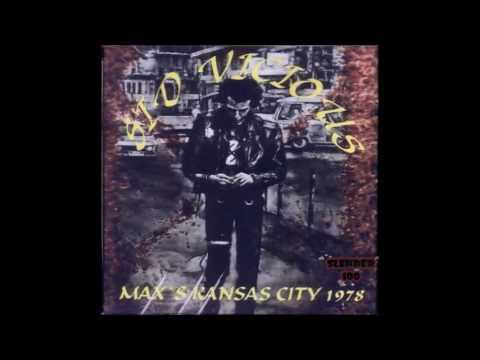 Sid Vicious   Live Max's Kansas City, New York, USA 30/09/1978 (FULL 2 SETS)