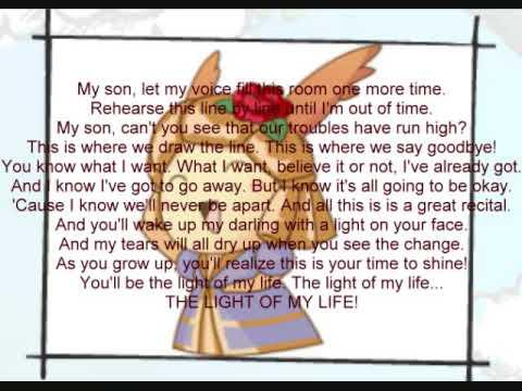 Light of My Life with Lyrics