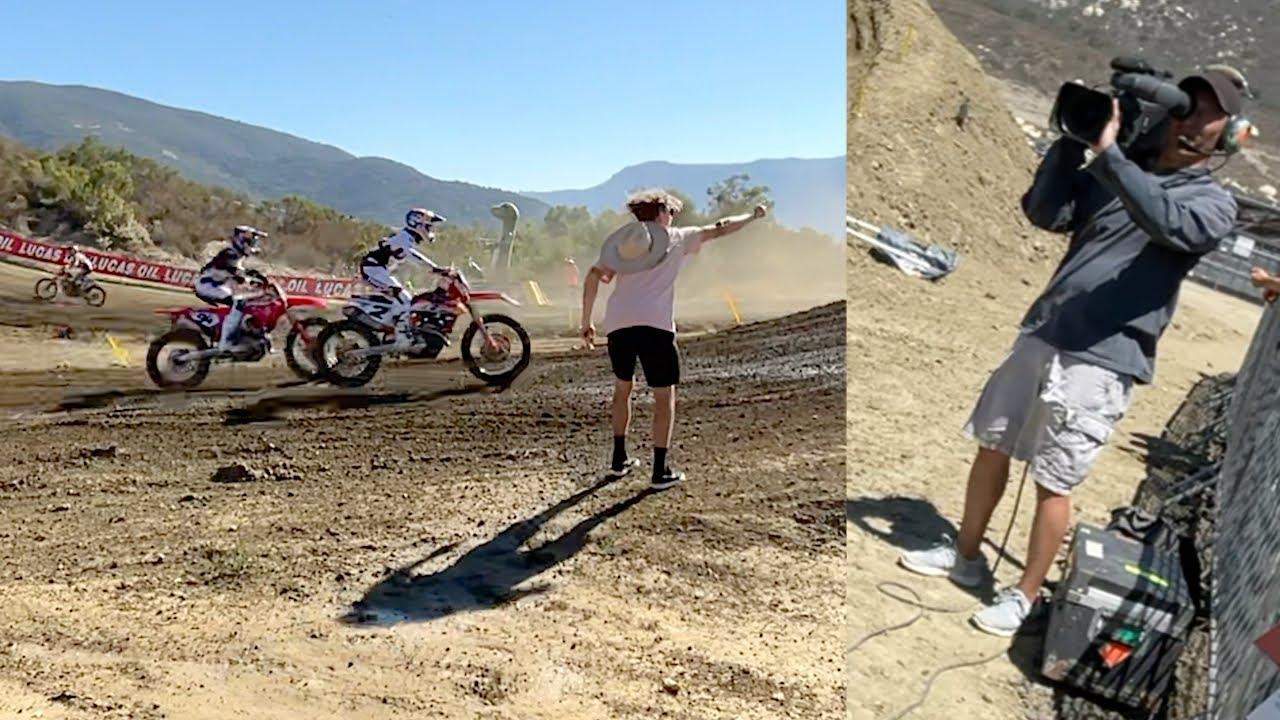Medium Boy Runs On The Track - Buttery Vlogs Ep109