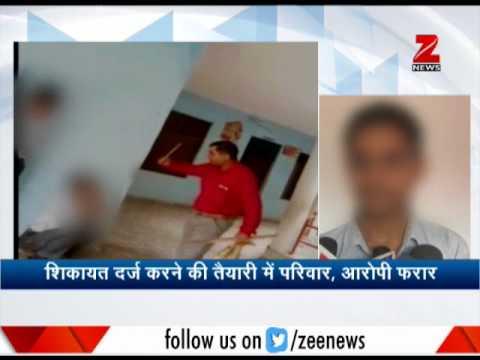 School principal turns brute, inhuman behaviour with students
